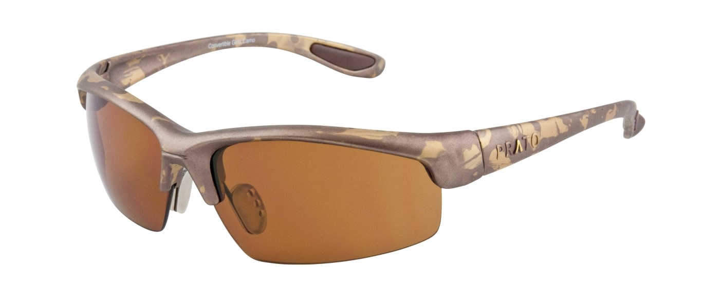 ccf5a56488f Desert Camo Frame with a UV Brown Medium size Lens - Prato Eyewear