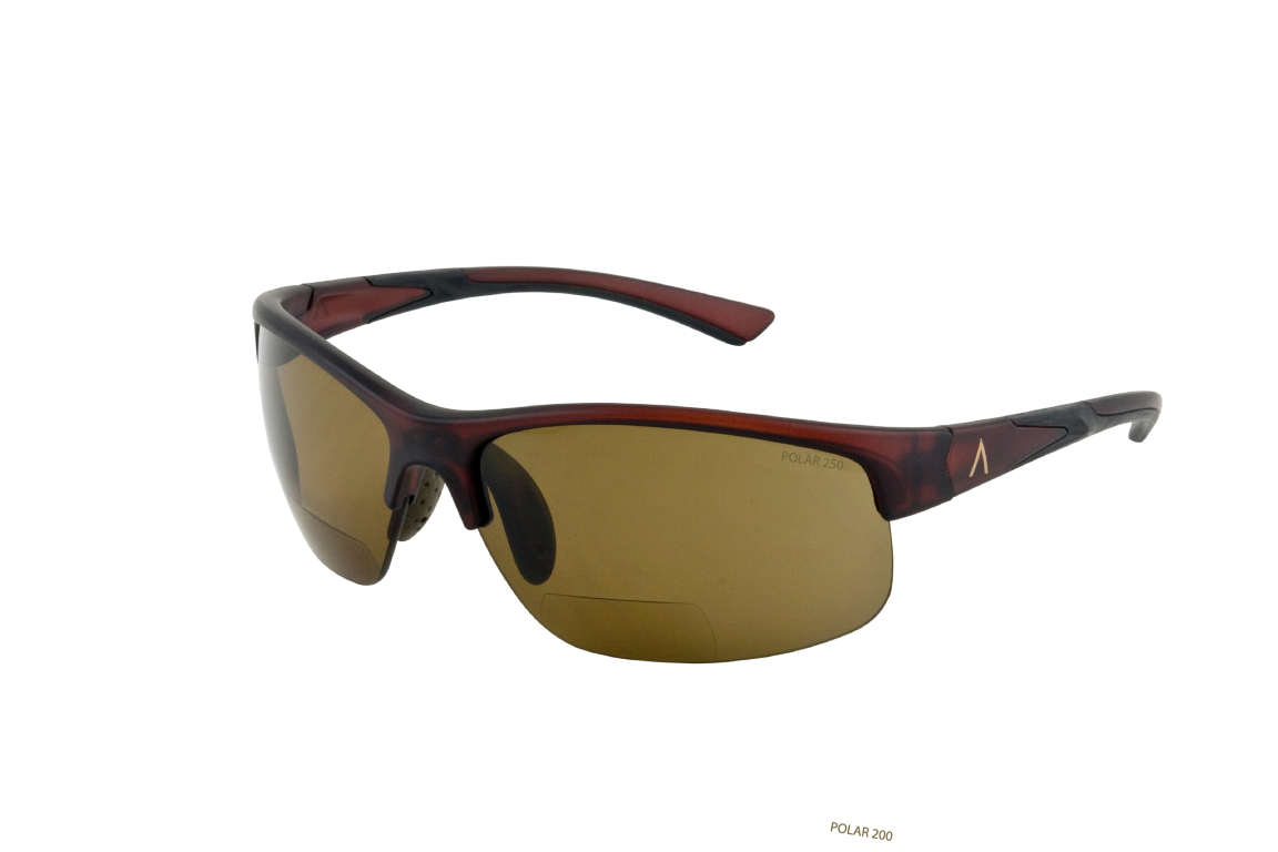 Tropea 85705 Brown Matte. Polarized Brown 2.50 Bifocal