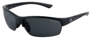 SKU 85603- Tropea Black Matte Frame with Polarized Gray, Medium Size Lens