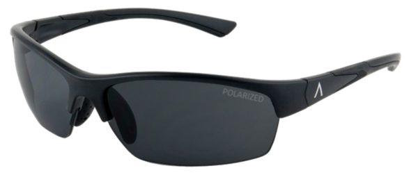 SKU 85603- Tropea Black Matte Frame with Polarized Gray, Medium Size Lens